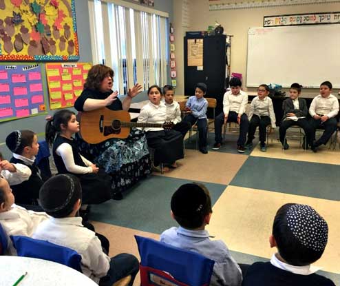 Rus Devorah Engaging Students at Ohr Temimim School – Buffalo